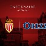Orezza partenaire avec l'AS Monaco
