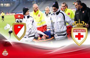 Joueurs de l'AS Monaco qui sont actuellement à l'infirmerie