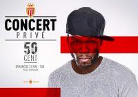 Dimanche, c'est la fête à Monaco avec 50 Cent !
